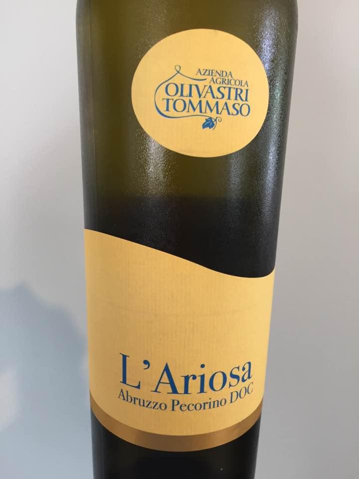 Azienda Agricola Olivastri Tommaso – L'Ariosa 2017 – Abruzzo Pecorino