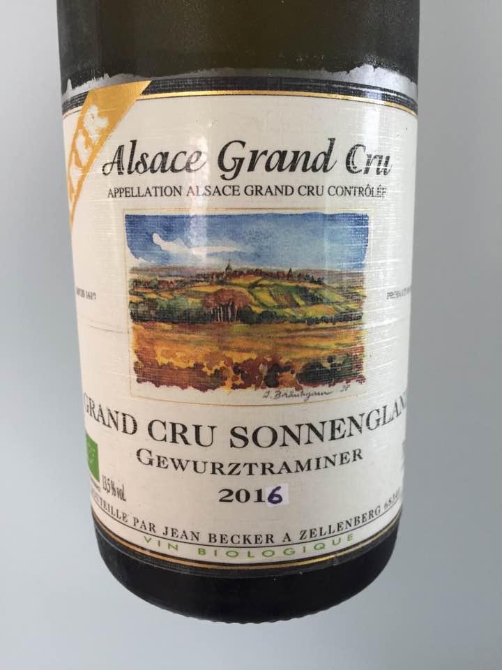 Becker – Gewurztraminer 2016 – Alsace Grand Cru, Sonnenglanz