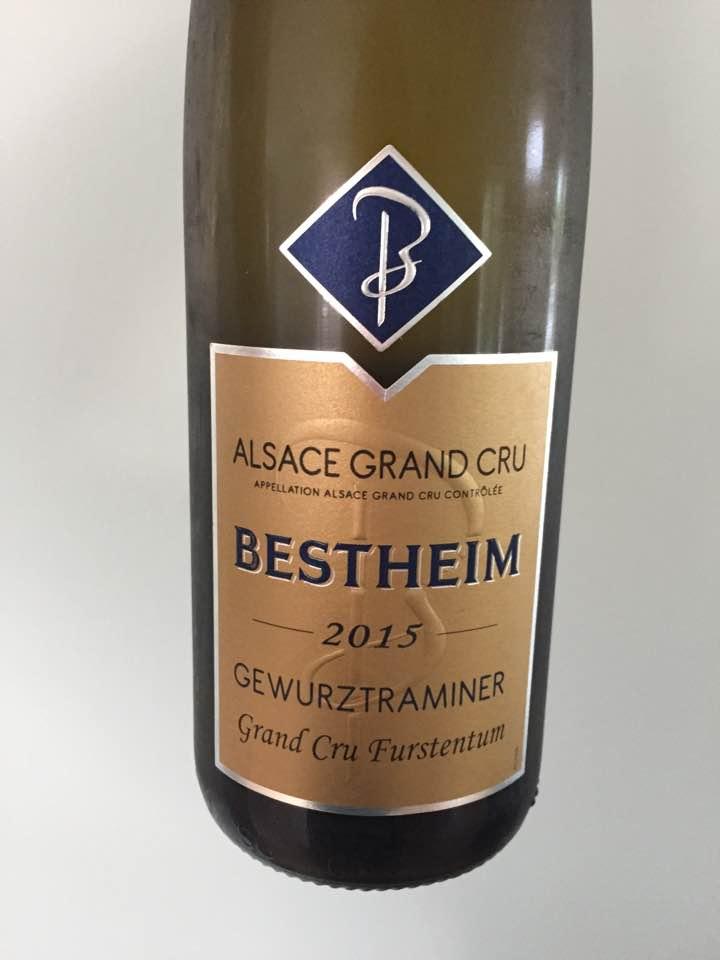 Bestheim – Gewurztraminer 2015 – Alsace Grand Cru, Furstentum