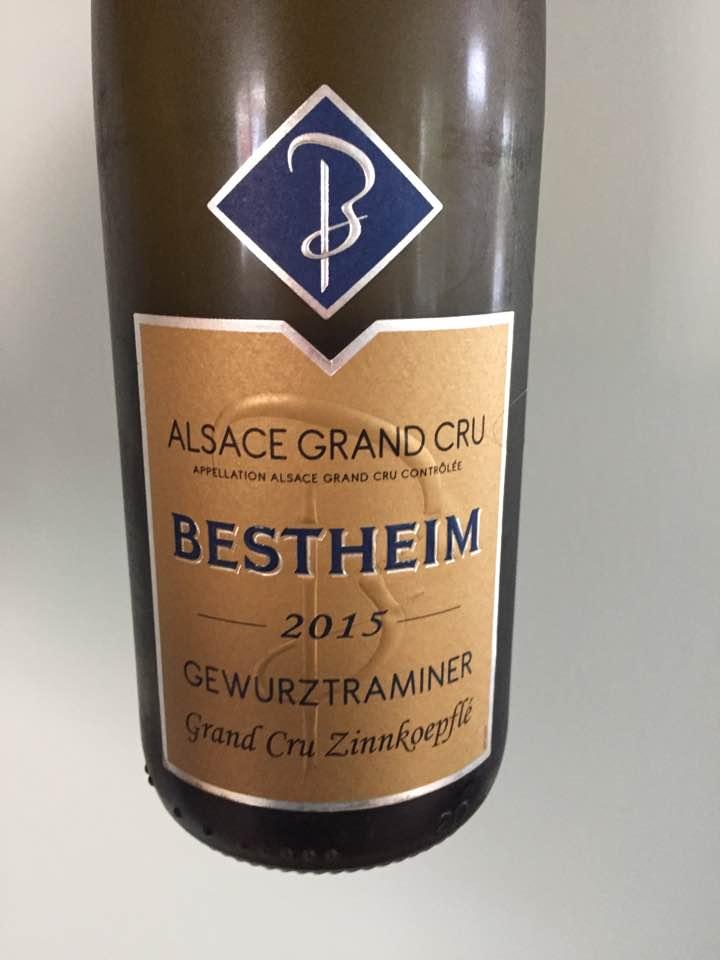 Bestheim – Gewurztraminer 2015 – Alsace Grand Cru, Zinnkoepflé