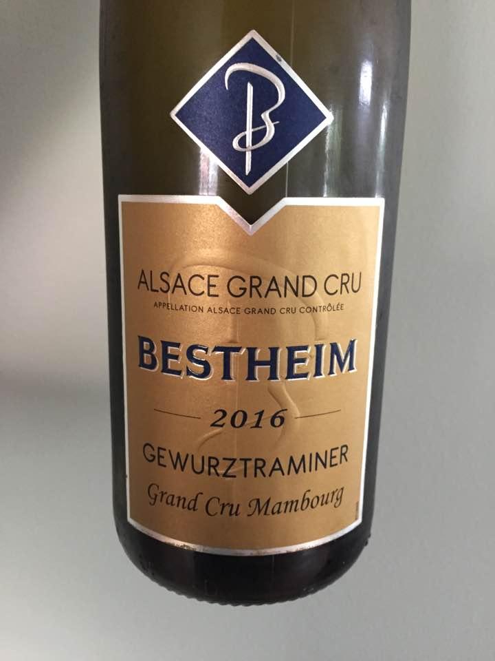 Bestheim – Gewurztraminer 2016 – Alsace Grand Cru, Mambourg