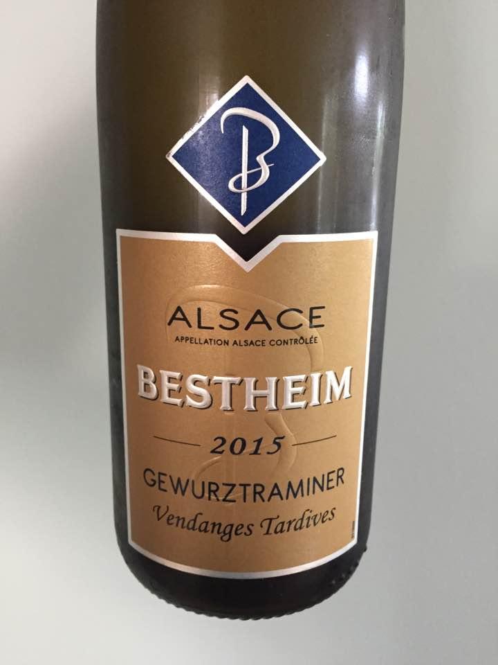 Bestheim – Vendanges Tardives, Gewurztraminer 2015 – Alsace