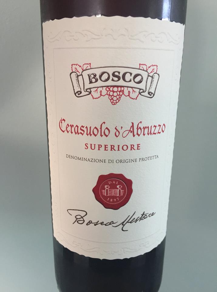 Bosco – Superiore 2017 – Cerasuolo D'Abruzzo