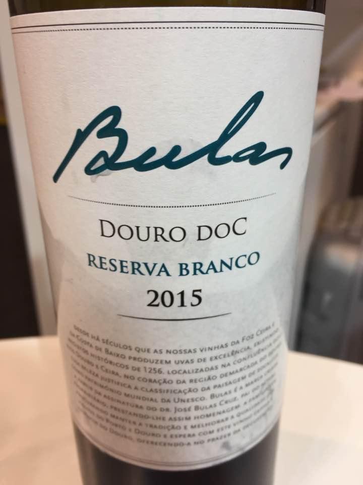Bulas – Reserva Branco 2015 – Douro