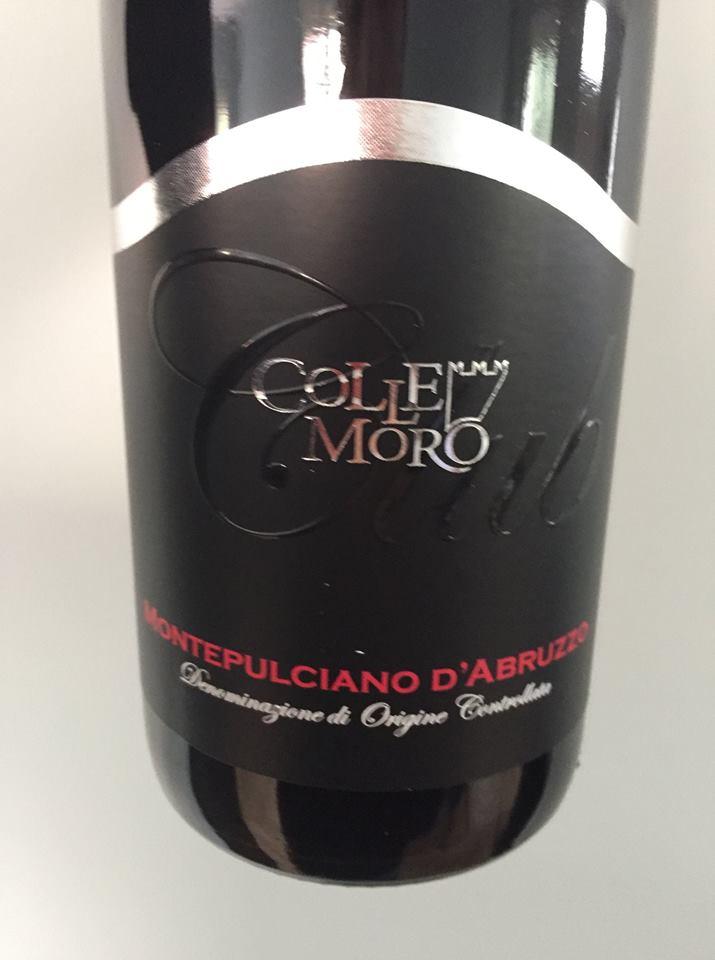 Cantina Colle Moro 2017 – Montepulciano d'Abruzzo