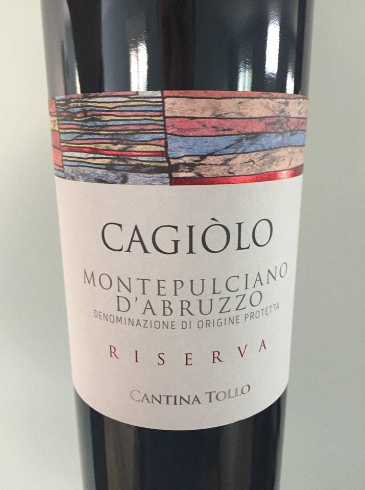 Cantina Tollo – 2013 Riserva – Montepulciano D'Abruzzo
