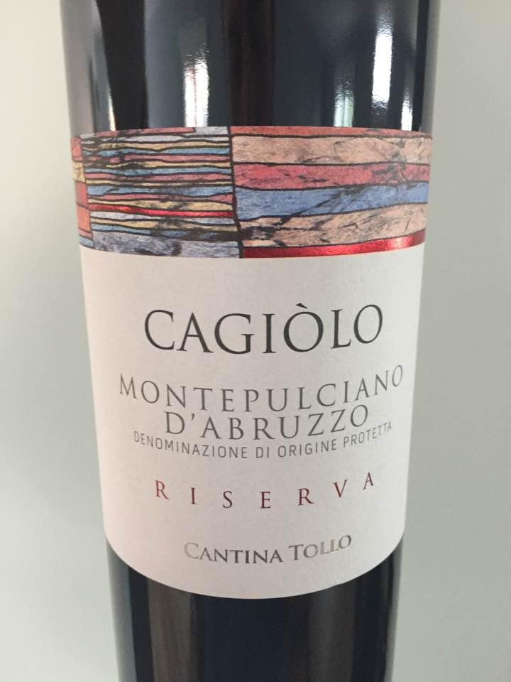 Cantina Tollo – Cagiòlo 2012 Riserva – Montepulciano D'Abruzzo