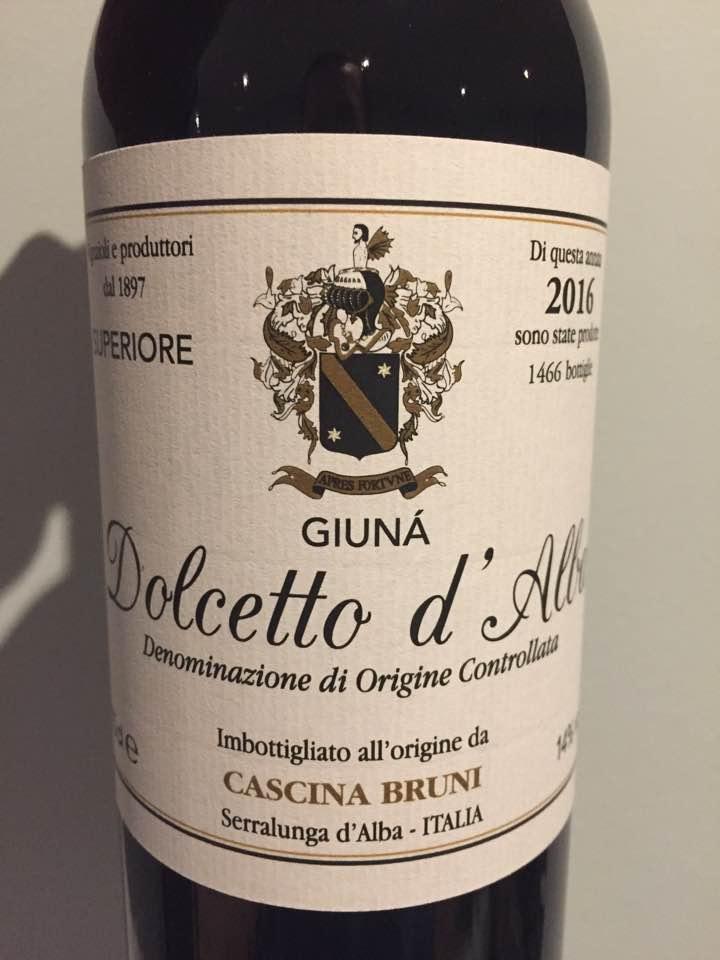 Cascina Bruni – 2016 – Dolcetto D'alba