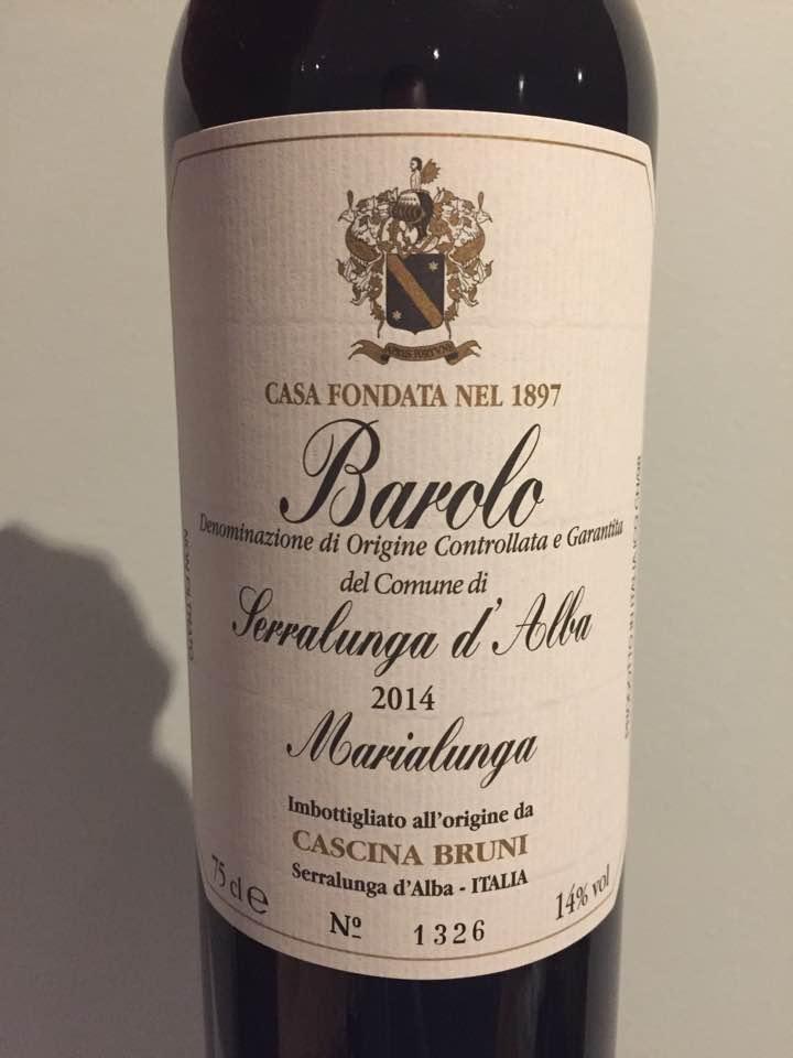 Cascina Bruni – Marialunga 2014 – Barolo