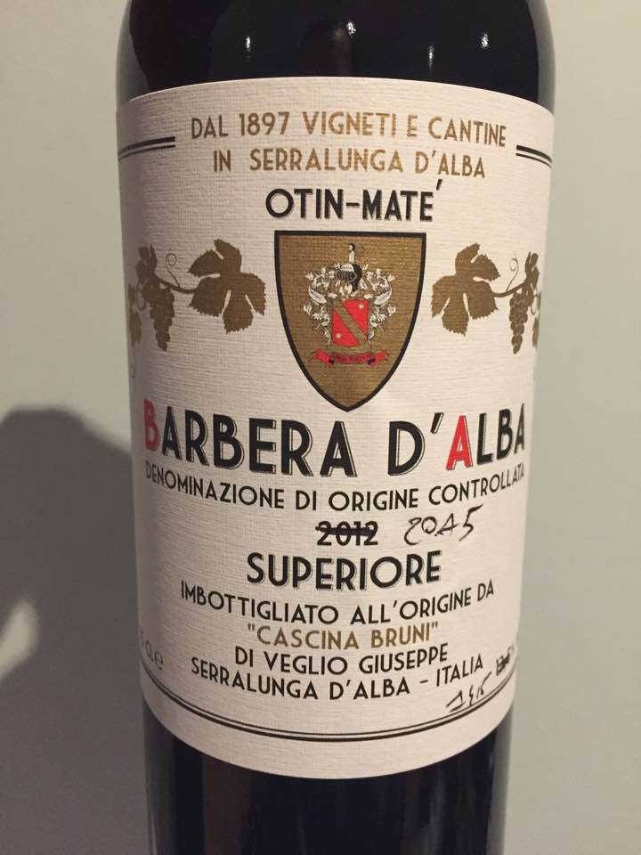 Cascina Bruni 2015 – Barbera d'Alba Superiore