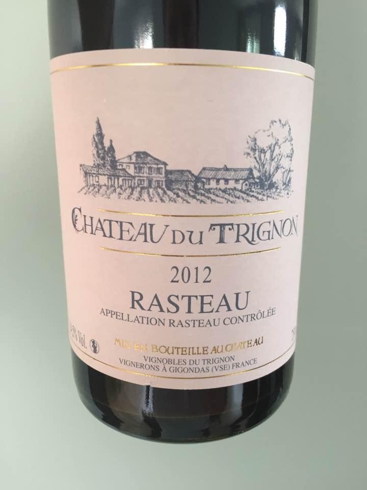 Château du Trignon 2012 – Rasteau