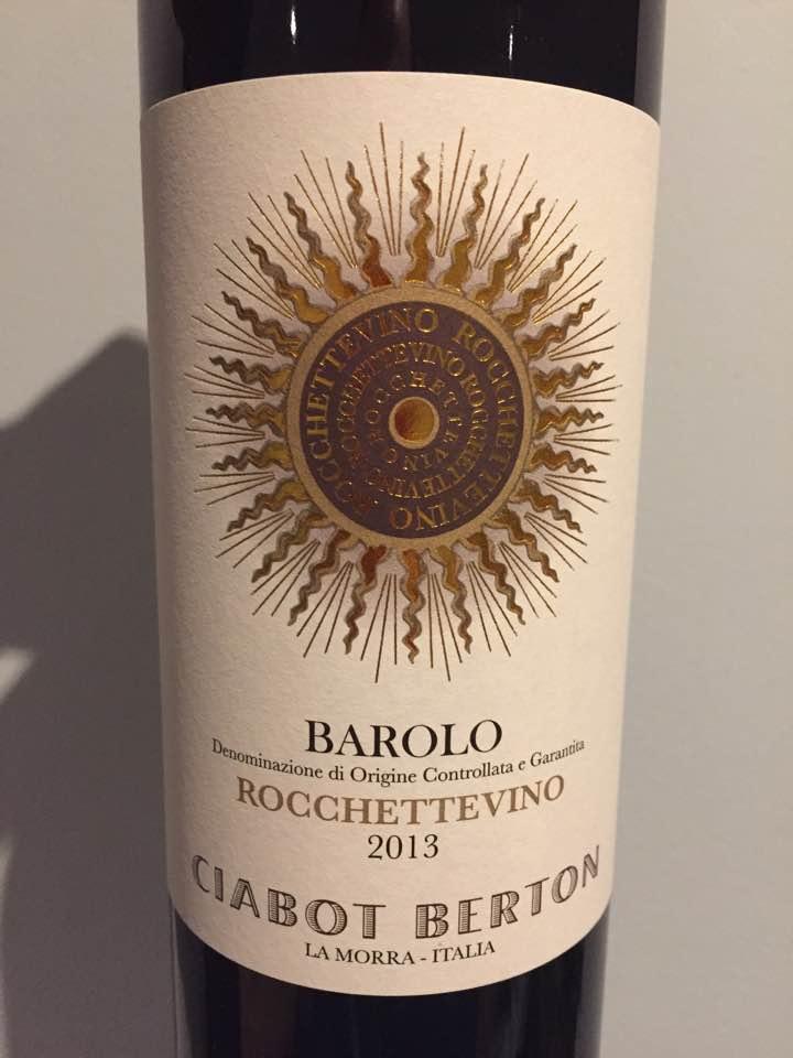 Ciabot Berton – Rocchettevino 2013 – Barolo