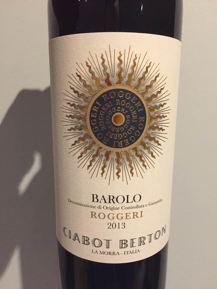 Ciabot Berton – Roggeri 2013 – Barolo