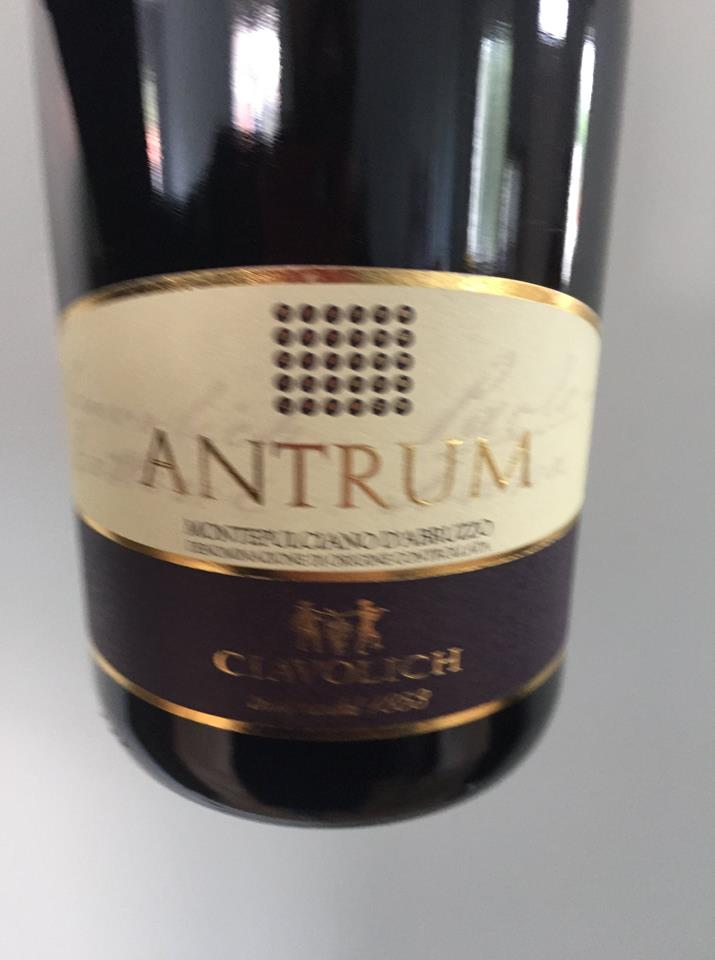 Ciavolich – Antrum 2012 – Montepulciano d'Abruzzo