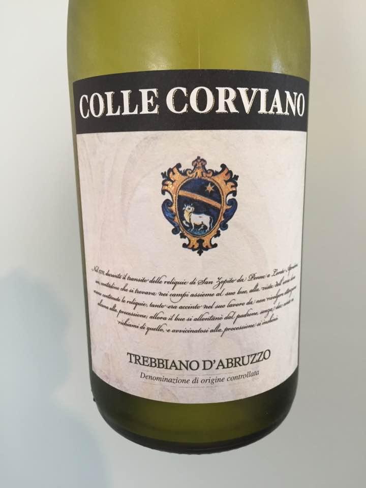 Colle Corviano 2017 – Trebbiano d'Abruzzo