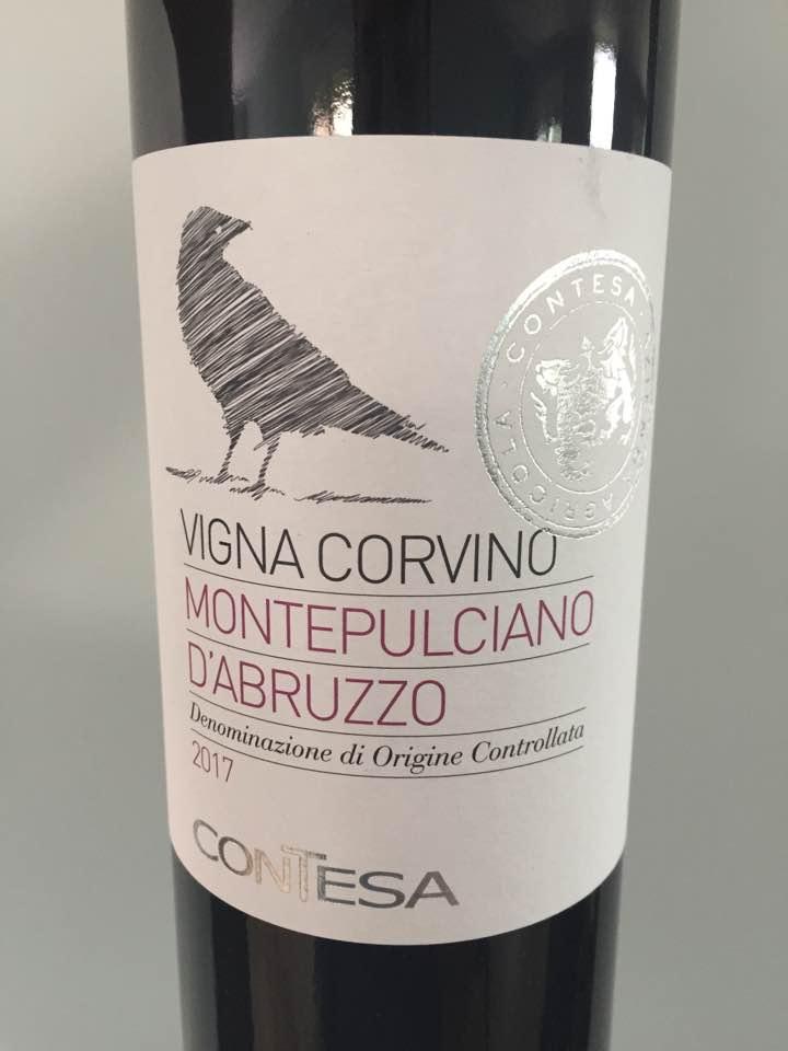 Contesa – Vigna Corvino 2017 – Montepulciano D'Abruzzo
