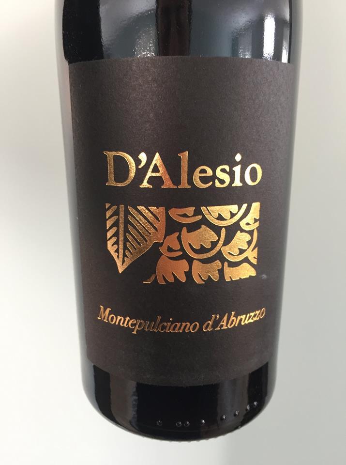 D'Alesio 2013 – Montepulciano d'Abruzzo