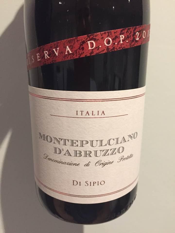 Di Sipio – 2012 Riserva – Montepulciano d'Abruzzo