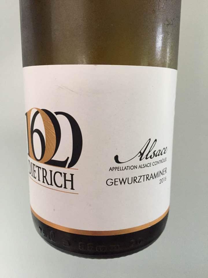 Dietrich – Gewurztraminer 2016 – Alsace