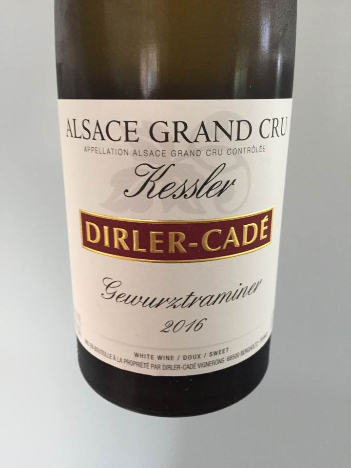 Dirler-Cadé – Gewurztraminer 2016 – Alsace Grand Cru, Kessler