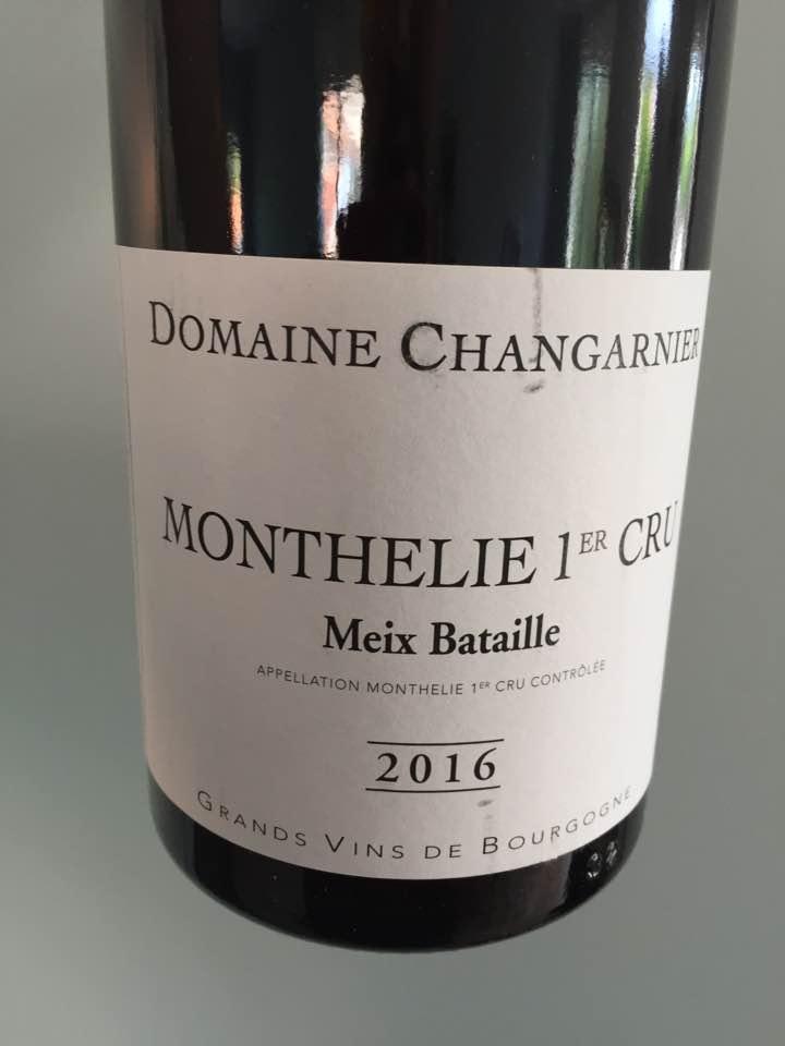 Domaine Changarnier – Meix Bataille – Monthelie 1er Cru
