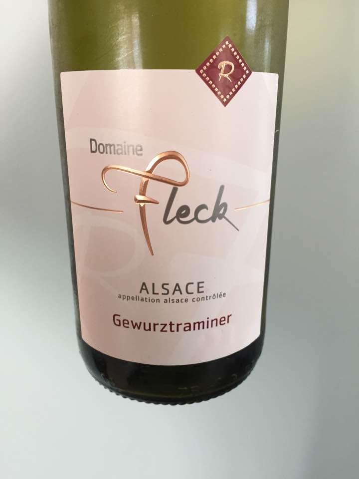 Domaine Fleck – Gewurztraminer 2015 – Alsace