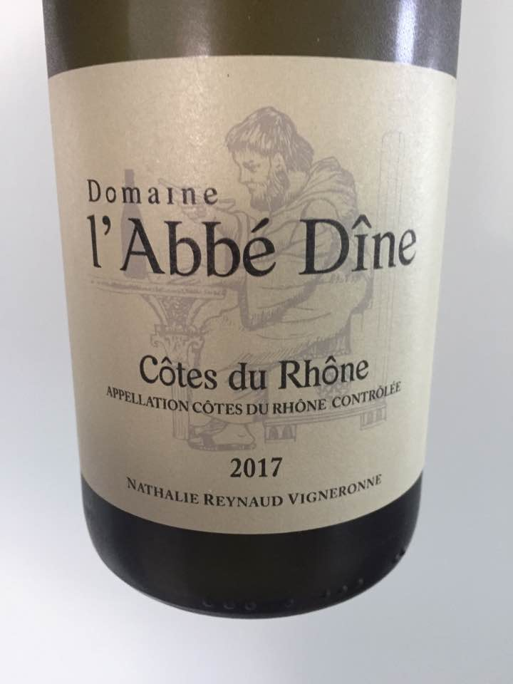 Domaine L'Abbé Dîne 2017 – Côtes du Rhône