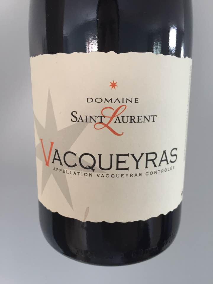 Domaine Saint-Laurent 2016 – Vacqueyras