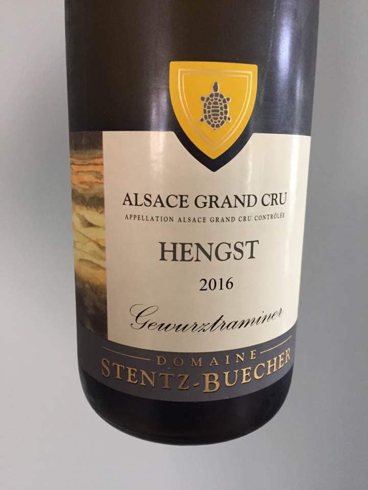 Domaine Stentz-Buecher – Gewurztraminer 2016 – Alsace Grand Cru, Hengst