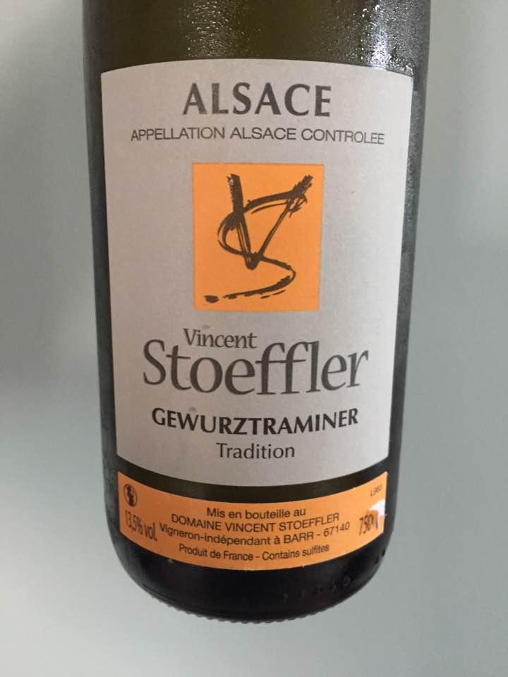 Domaine Vincent Stoeffler – Gewurztraminer 2016, Tradition – Alsace