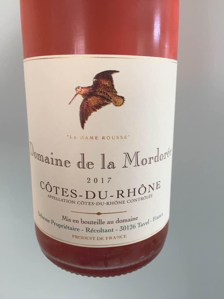 Domaine de la Mordorée – La Dame Rousse 2017 – Côtes-du-Rhône