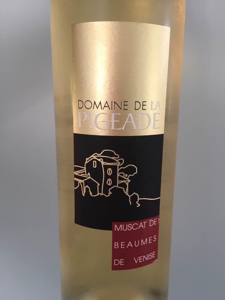 Domaine de la Pigeade 2016 – Muscat de Beaumes de Venise