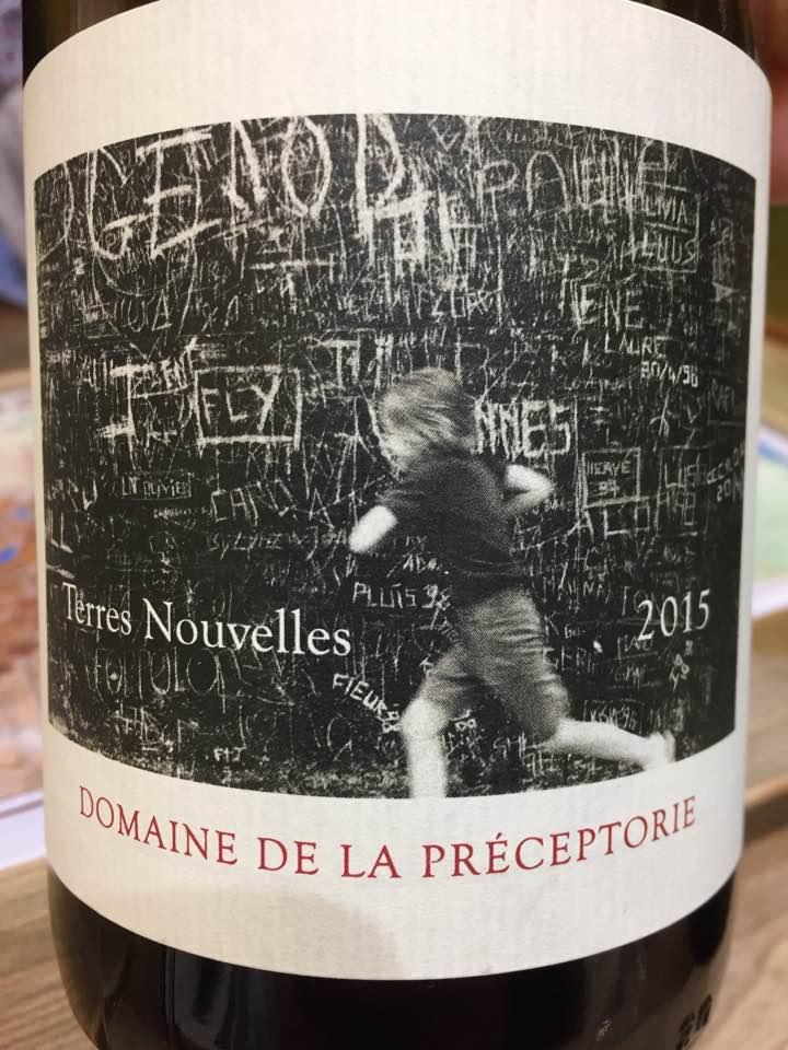 Domaine de la Préceptorie – Terres Nouvelles 2015– AOC Côtes du Roussillon