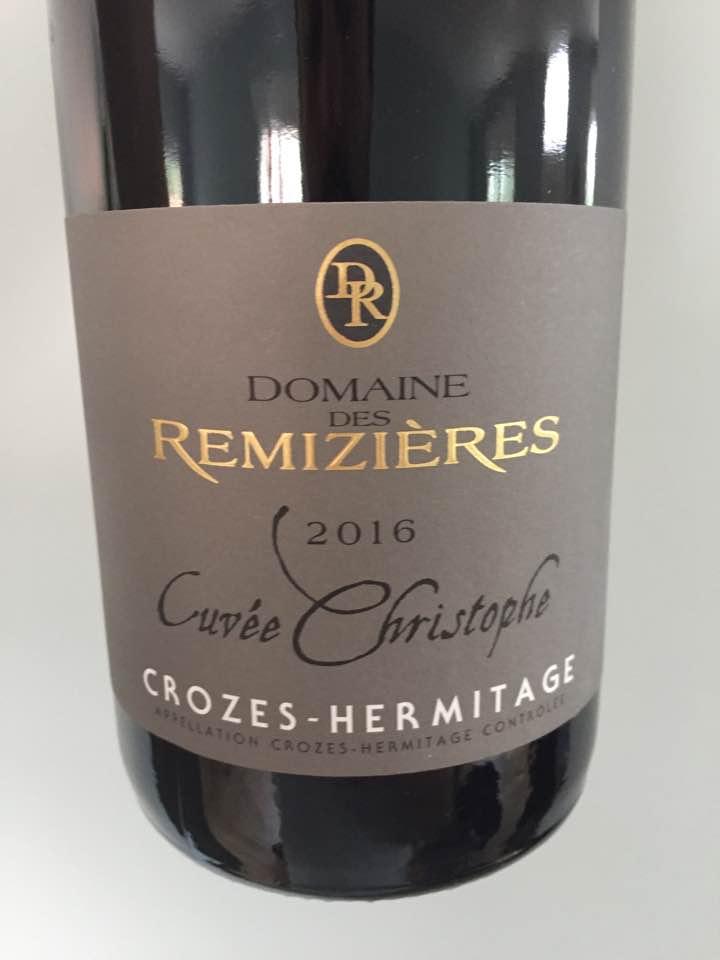 Domaine des Remizières – Cuvée Christophe 2016 – Crozes-Hermitage