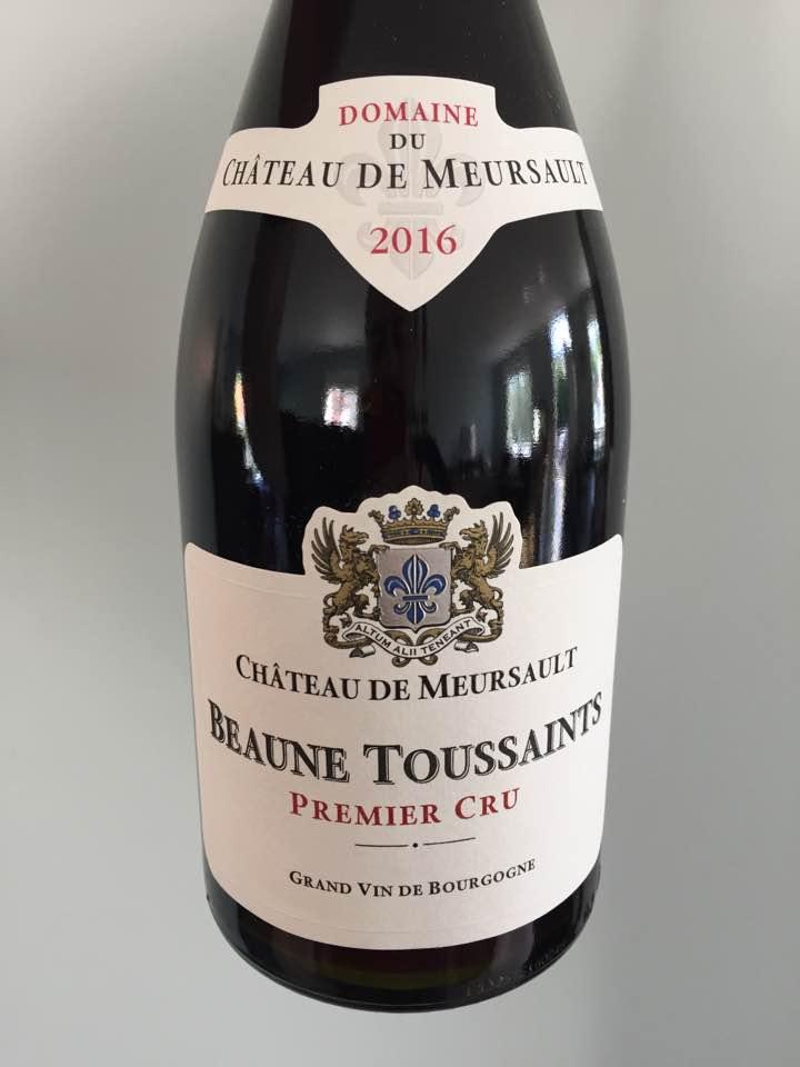 Domaine du Château de Meursault 2016 – Beaune Toussaints, 1er Cru
