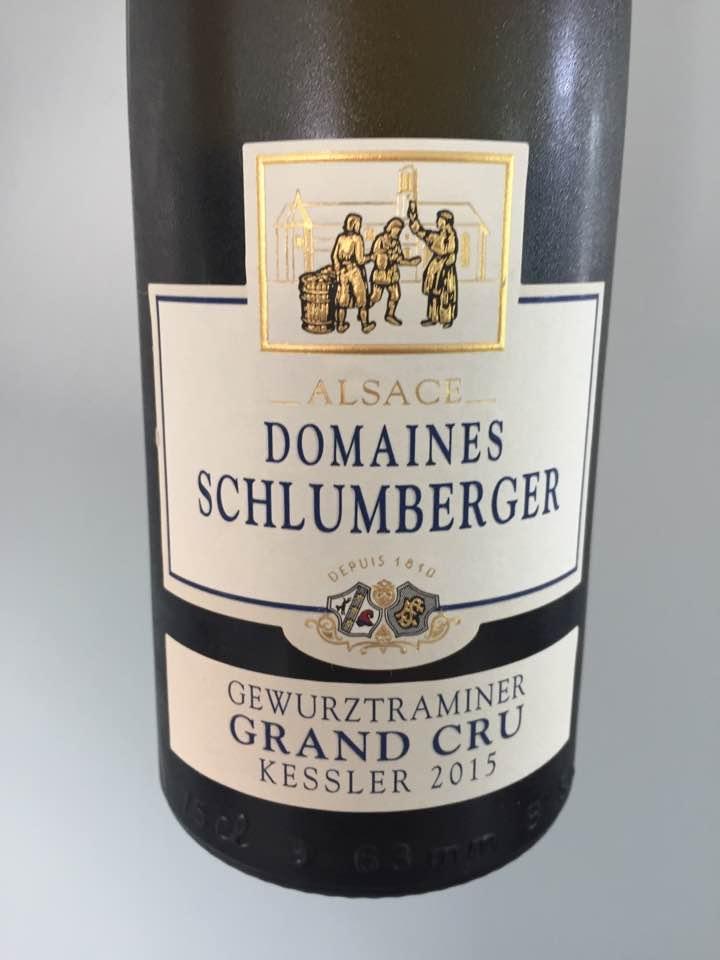 Domaines Schlumberger – Gewurztraminer 2015 – Alsace Grand Cru, Kessler