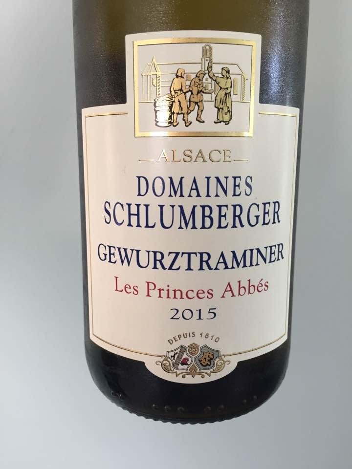 Domaines Schlumberger – Les Princes Abbés 2015, Gewurztraminer – Alsace