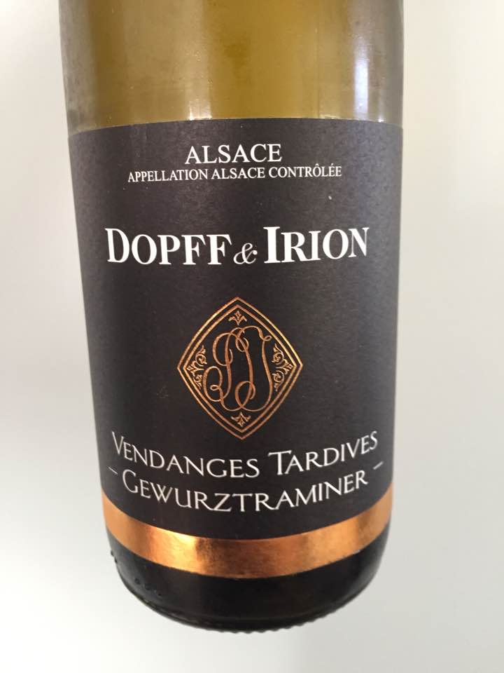 Dopff & Irion – Vendanges Tardives, Gewurztraminer 2015 – Alsace