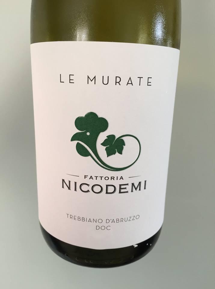 Fattoria Nicodemi – Le Murate 2017 – Trebbiano d'Abruzzo