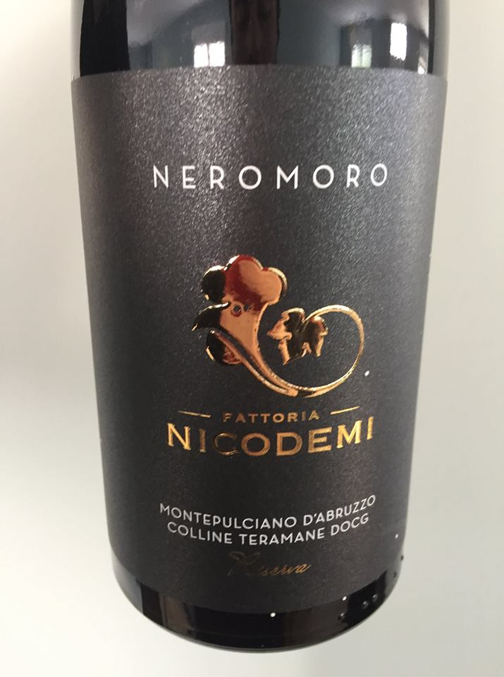 Fattoria Nicodemi – Neromoro 2014, Riserva – Montepulciano d'Abruzzo