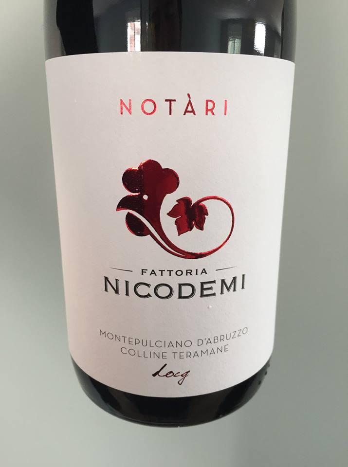 Fattoria Nicodemi – Notari 2015 – Montepulciano d'Abruzzo