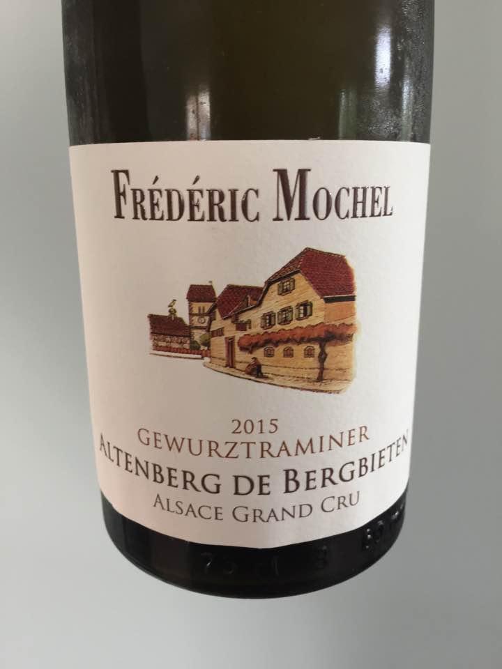 Frédéric Mochel – Gewurztraminer 2015 – Alsace Grand Cru, Altenberg de Bergbieten