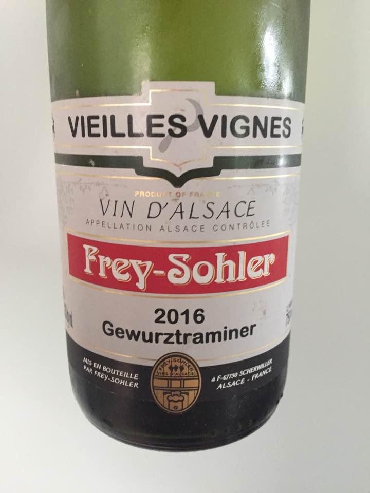 Frey-Sohler – Gewurztraminer 2016, Vieilles Vignes – Alsace