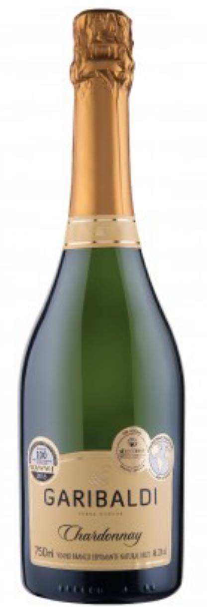 Garibaldi – Chardonnay – Vinho Branco Espumante Natural, Brut