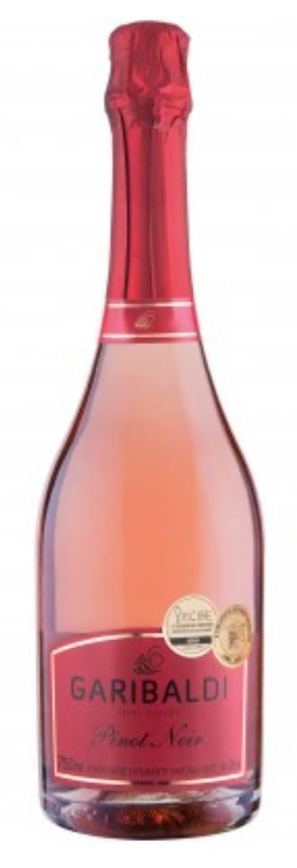 Garibaldi – Pinot Noir – Vinho Rosé Espumante Natural, Brut