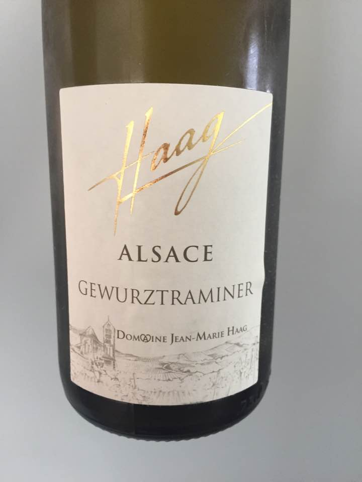 Haag – Gewurztraminer 2016 – Alsace