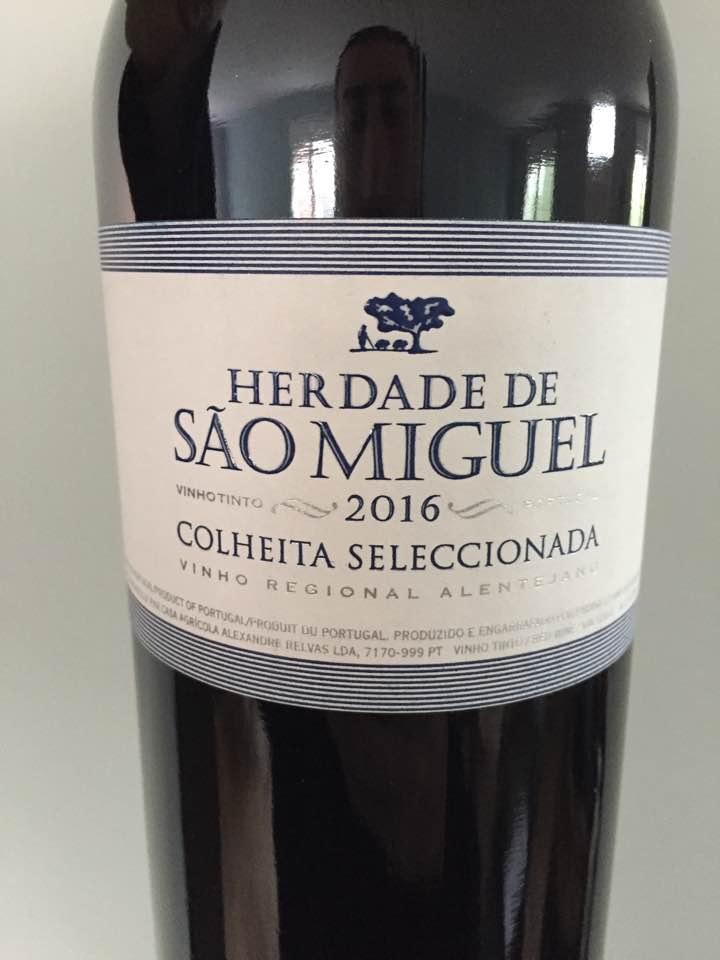 Herdade de Sao Miguel – 2016 Colheita Seleccionada – Vinho Regional Alentejano