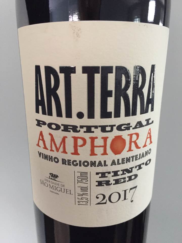 Herdade de Sao Miguel – Art. Terra – Amphora 2017 – Vinho Regional Alentejano