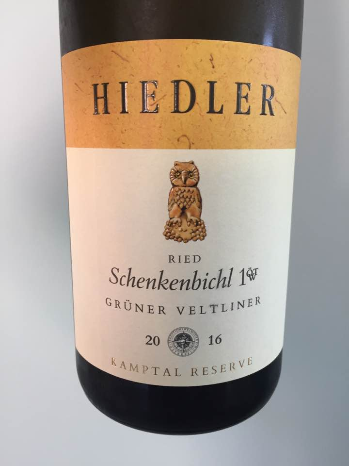 Hiedler – Grüner Veltliner 2016 Ried Schenkenbichl 1ÖT.W – Kamptal DAC Reserve