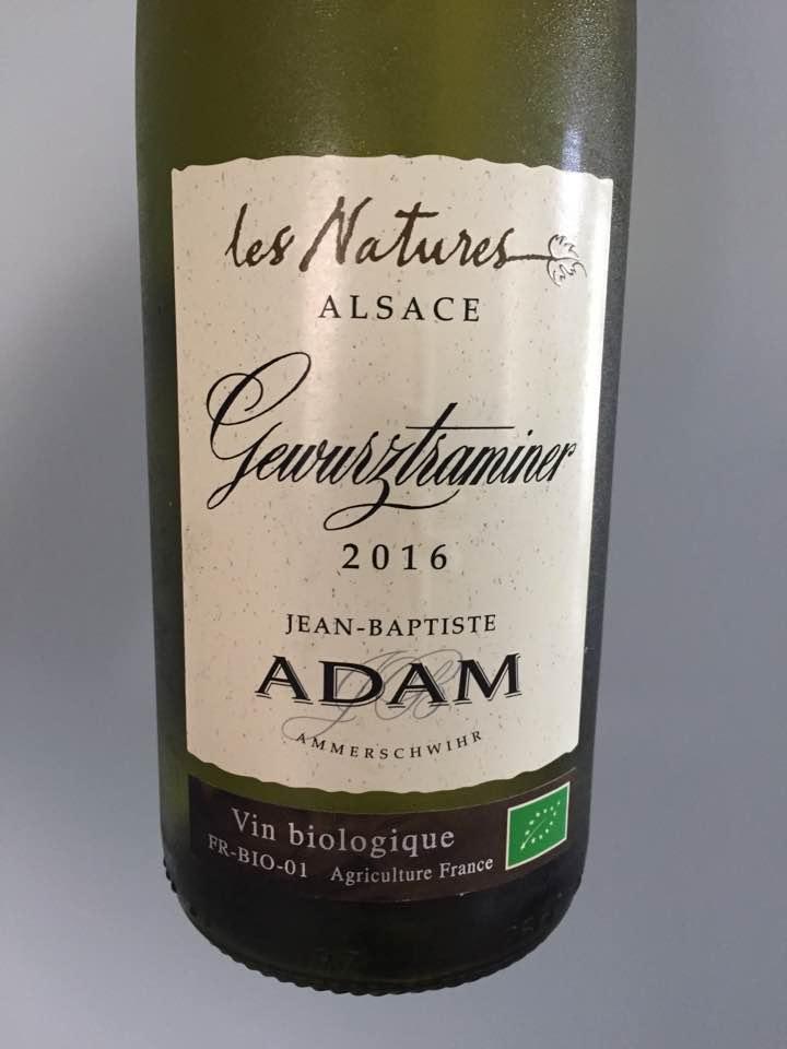 Jean-Baptiste Adame – Gewurztraminer 2016, Les Natures – Alsace